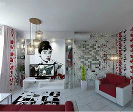 Из студии – двушка с кабинетом на лоджии: дизайнер Елена Скрипкина