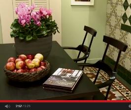 Модная плитка и керамогранит.<br> Видео с выставки MosBuild 2014