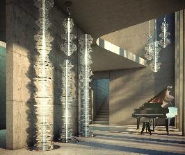 Preciosa объединяет свет, стекло и звук