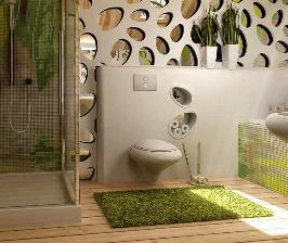 Интерьер в деталях: ванная в эко-стиле