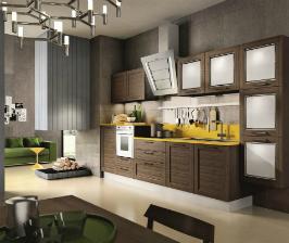 Инновационные фасады новой кухни «Мария»