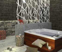 Ванная комната в сдержанном ключе: дизайнер Юлия Сыромолотова
