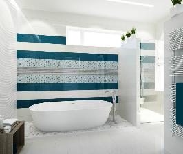 Ванная комната в морском стиле: проект Рустэма (Zed design) Уразметова