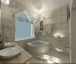 Ванная комната в восточном стиле: идея дизайнера Алены Шамайко