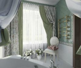Ванная для настоящей принцессы: дизайн студии Interierus