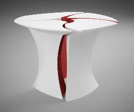 DuPont представляет стол-цветок для переговоров