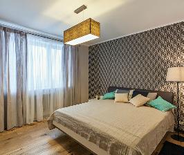 Квартира для молодого человека с возможностью трансформации в семейное гнездышко: дизайнер Валерия Матвейчик