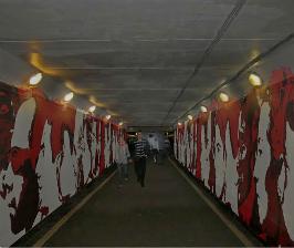 ARTPLAY превращает тоннель в арт-объект