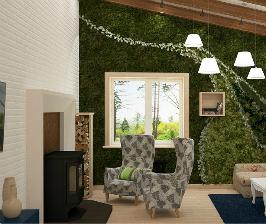 Как оформить дом в таежном стиле