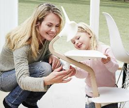 MellinaKIDS представляет стульчик для подвижных детей