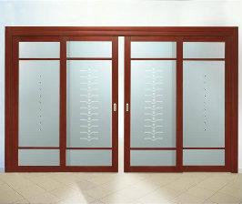Раздвижные двери: устройство