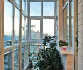 Балкон для цветов: дизайнер Татьяна Иваненко