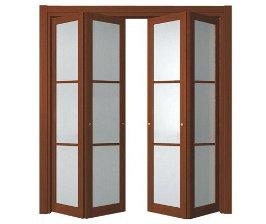 Складные двери: устройство