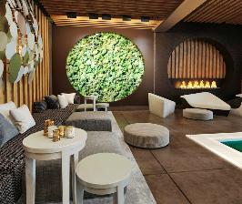 Дом с бассейном: дизайнер Виталий Дорохов