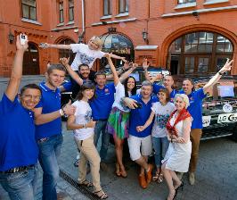 LG покоряет города России в проекте-экспедиции