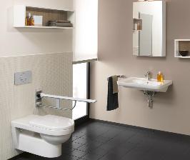 Villeroy & Boch создает комфортную ванную для людей с особыми потребностями