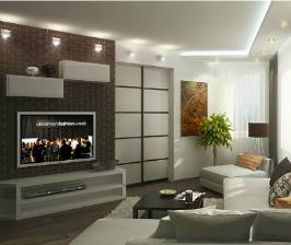 <strong>15</strong> способов разместить телевизор в гостиной красиво