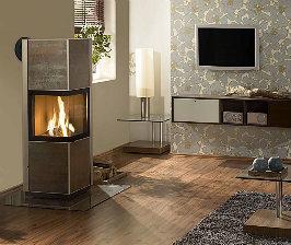 Отопление дома камином: за и против