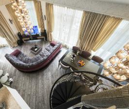 Двухуровневая квартира: дизайнер Наталья Медведева