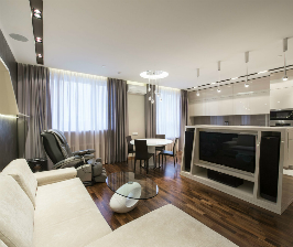 Серый цвет в интерьере квартиры: дизайнер Наиля Гумирова