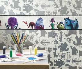 Мультфильмы и комиксы на обоях от York Wallcoverings
