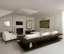 Двухэтажная квартира с личным лифтом: дизайнер Дмитрий Лаптев