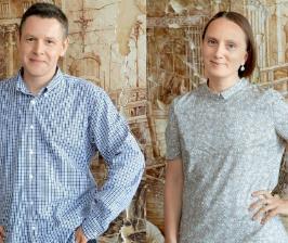 Анна Троско и Дмитрий Казакевич о росписи в интерьере