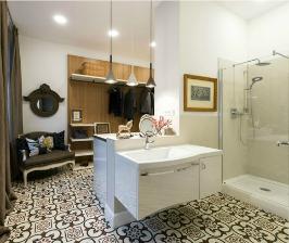 Как совместить ванную с гардеробной. <br>8 простых шагов
