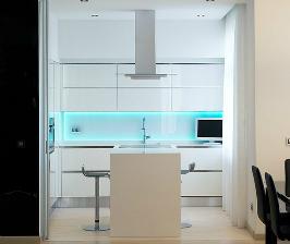Как сделать современную кухню на минимальной площади