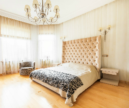 Гостевая комната в загородном доме: дизайнер Ирина Воронцова