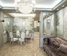 Трехкомнатная квартира: дизайнер Анна Гусарова