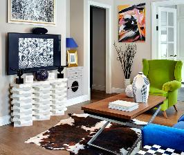 Апрельская любовь в Хамовниках: стильная квартира – из бывшей коммуналки