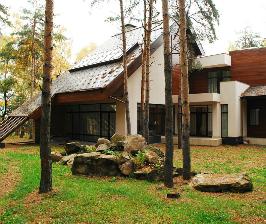 Просторный загородный дом в Подмосковье: дизайнер Армен Мелконян