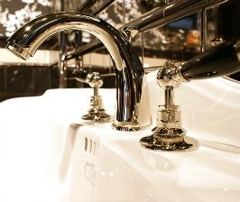 Ванная под винтаж с «Декор Буржуа»