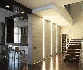 Дом с двухсветной гостиной: дизайнер Ярослав Усов