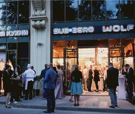 В Москве открылся шоу-рум Sub-Zero&Wolf