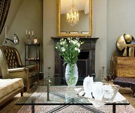 Двухуровневая квартира с мансардой: архитектор Елена Корнилова