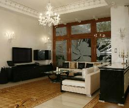 Дизайн-проект холла великолепного особняка: дизайнер Андрей Проценко