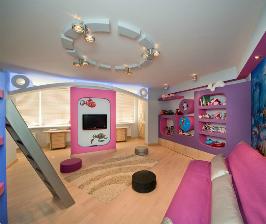 Детская комната для троих детей: дизайнер Марина Кутузова