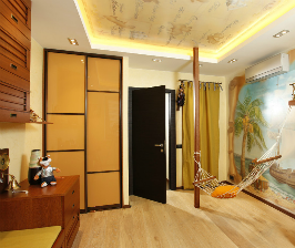 Отделка детской комнаты для мальчика: дизайнер Екатерина Козлова