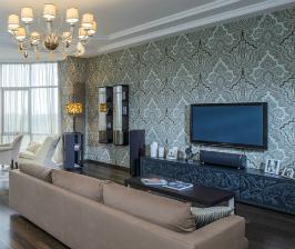Просторная квартира в Одессе для семьи с детьми: дизайнер Симон Муница