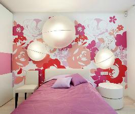 Модная комната в розовых тонах: дизайнер Ольга Кулекина