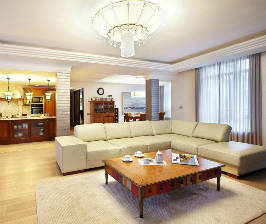 Большая квартира в Санкт-Петербурге: дизайнер Сергей Телевной