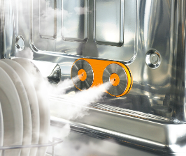 LG моет посуду до блеска паром