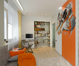 Квартира в Новосибирске для семьи с детьми: дизайнер Ольга Симагина