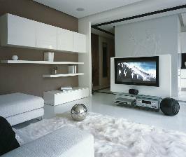 Теплый дом в ледяных тонах