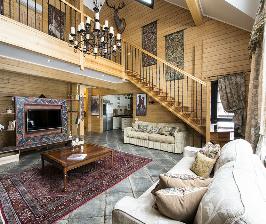 Большой деревянный дом в лесу – великолепные отзывы: дизайнер Екатерина Сережина