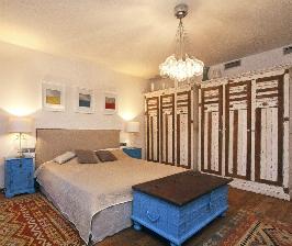 Спальня в средиземноморском стиле: дизайнер Маргарита Кашина