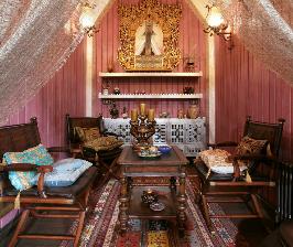 Дом с третьим этажом в восточном стиле: дизайнер Татьяна Рожкова