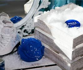 NIVEA готовит города к зиме